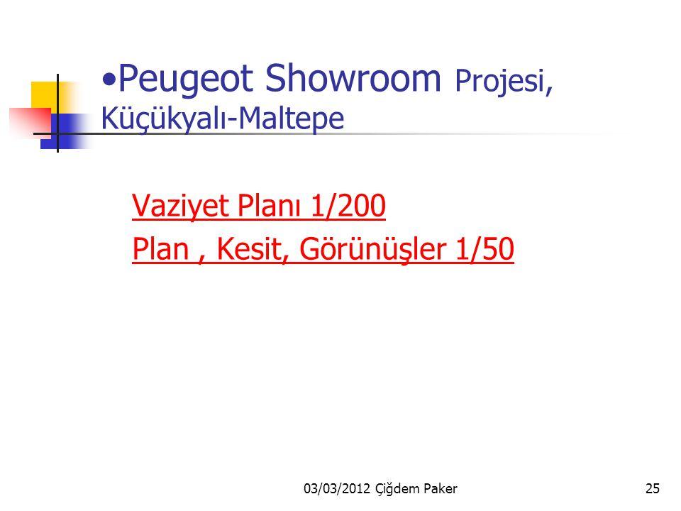 03/03/2012 Çiğdem Paker24 Taşlardan Mimarlık mimari proje bürosunda Projeler: Peugeot Showroom Aksa Jeneratör Fabrikası Darüşşafaka İşçi Bulma Kurumu
