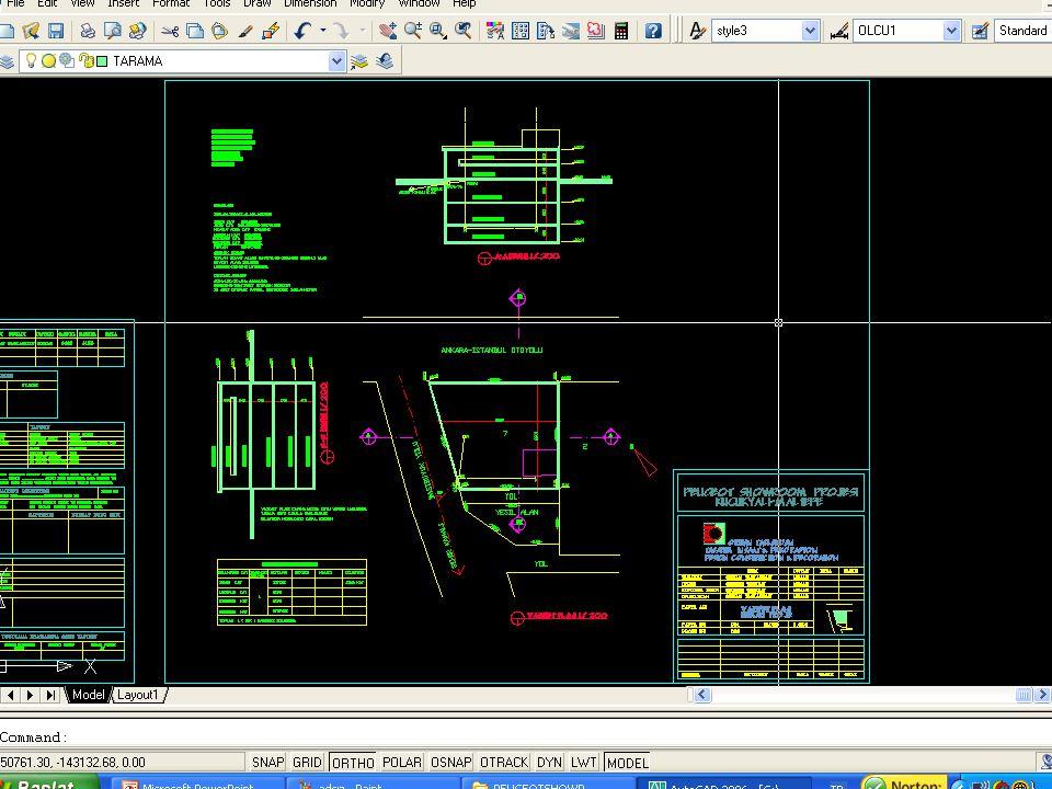 03/03/2012 Çiğdem Paker25 Peugeot Showroom Projesi, Küçükyalı-Maltepe Vaziyet Planı 1/200 Plan, Kesit, Görünüşler 1/50