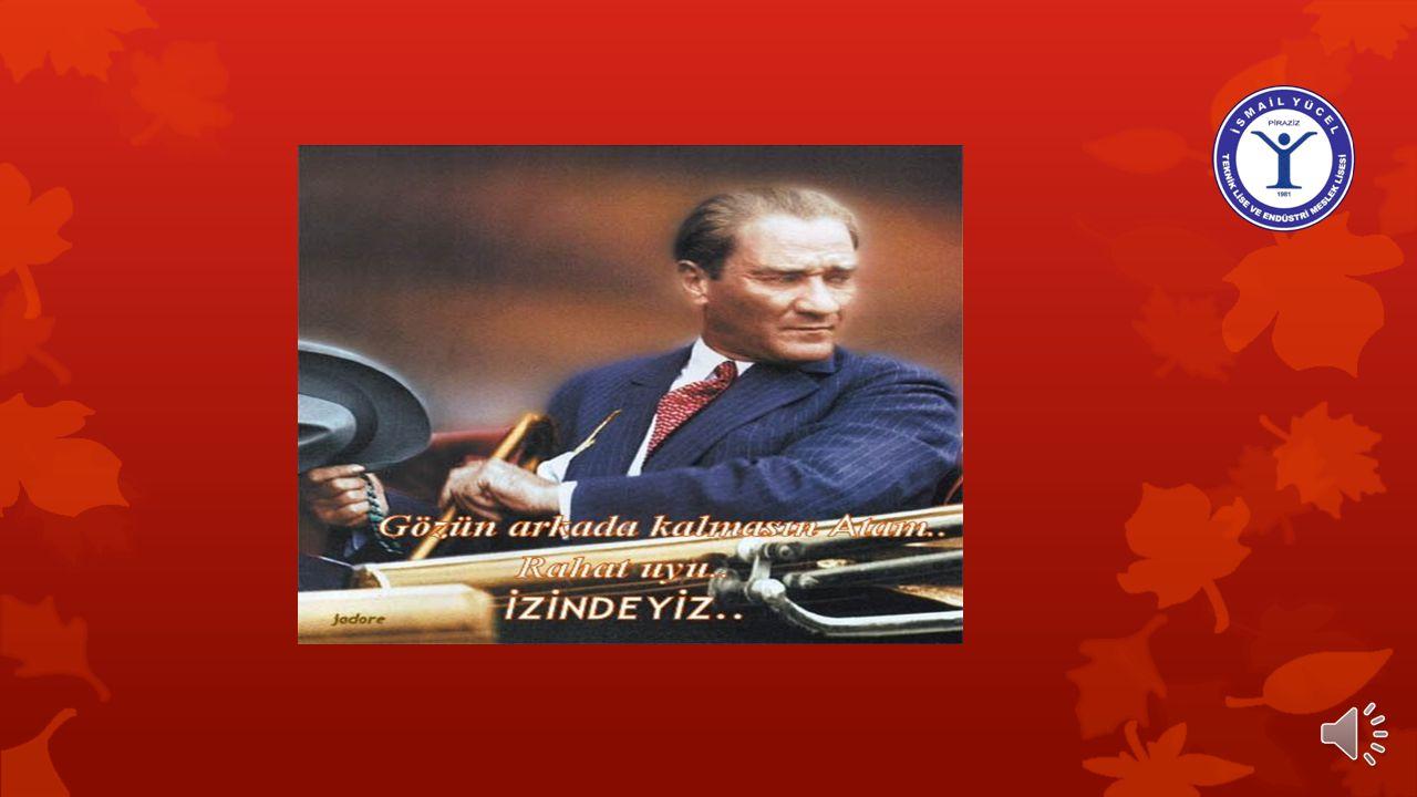 'Türkiye Cumhuriyeti'nin temeli kültürdür.!' Kemal ATATÜRK