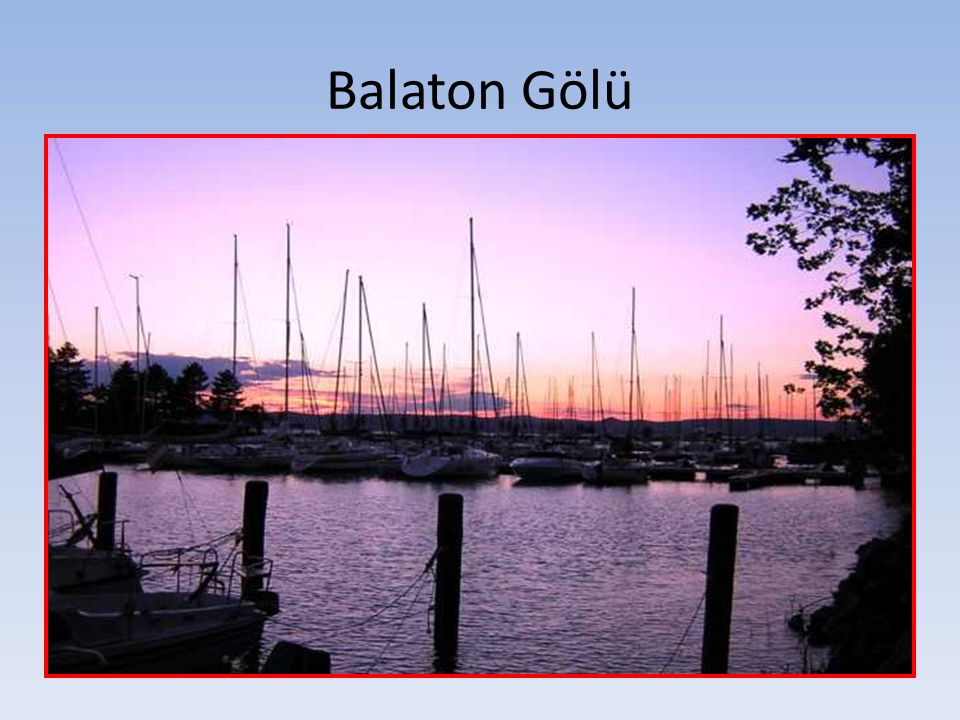 Balaton Gölü