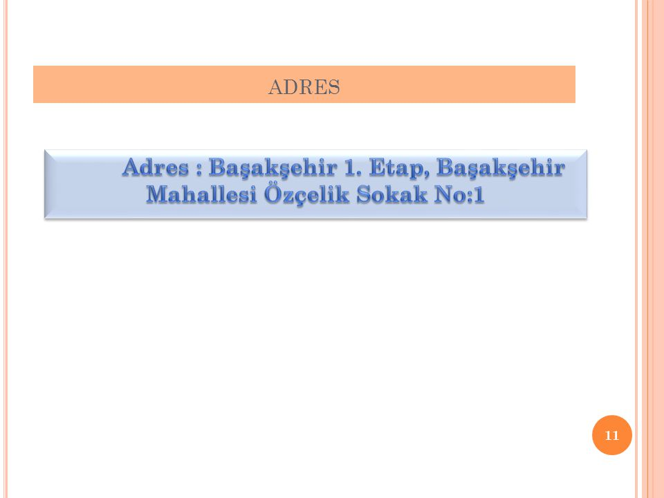 ADRES 11