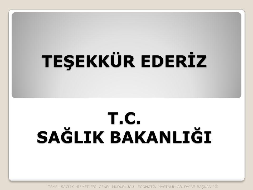 TEŞEKKÜR EDERİZ T.C.