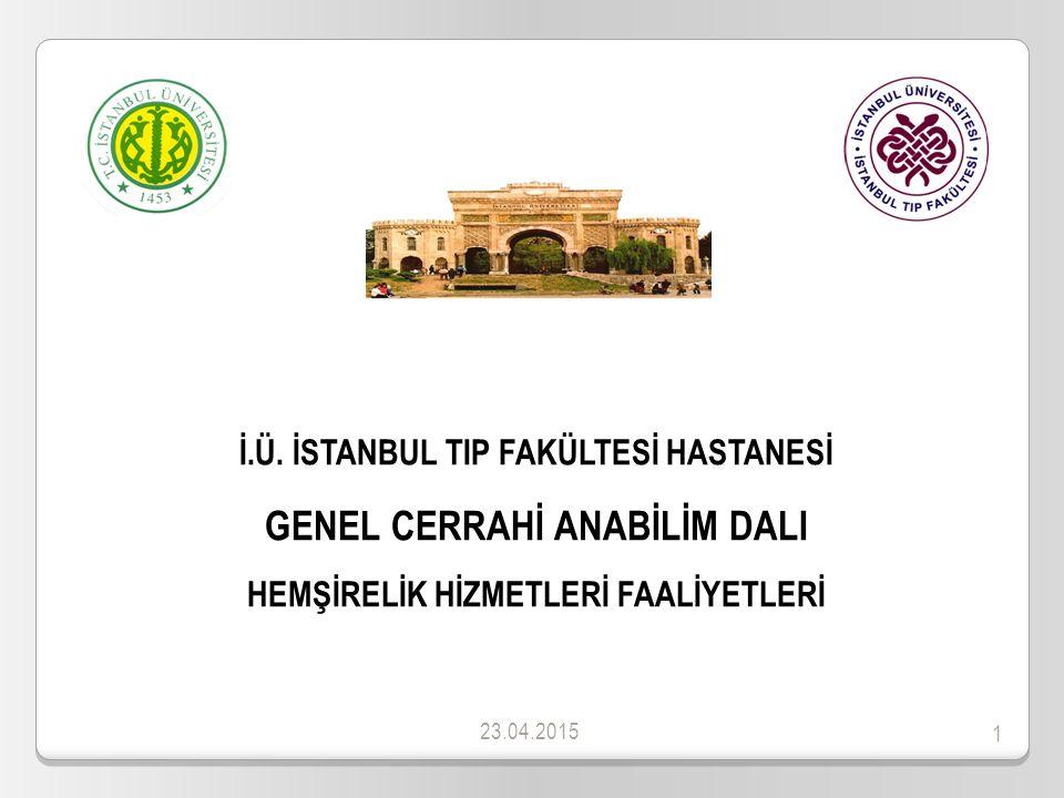 2 SUNUM İÇERİĞİ 1.ANABİLİM DALI TANITIM 2. YÖNETSEL PERFORMANS 2.1.