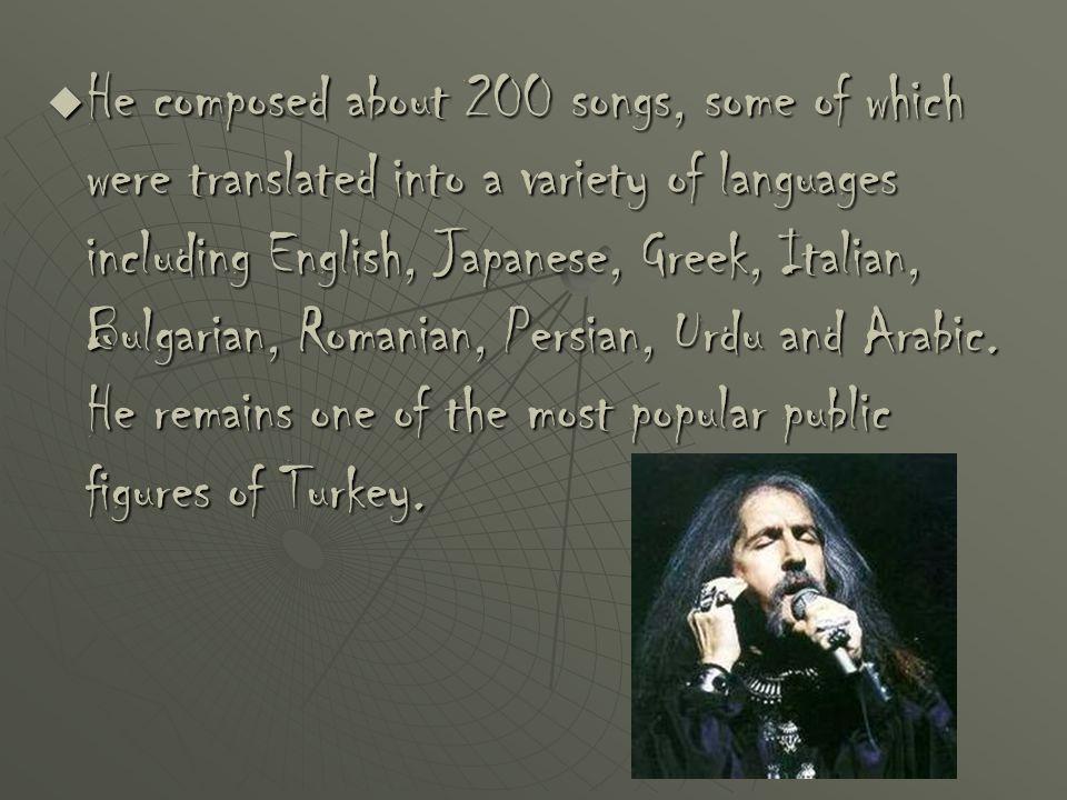 Are the sentences below true or false .BBBBarış Manço had 18 albums.