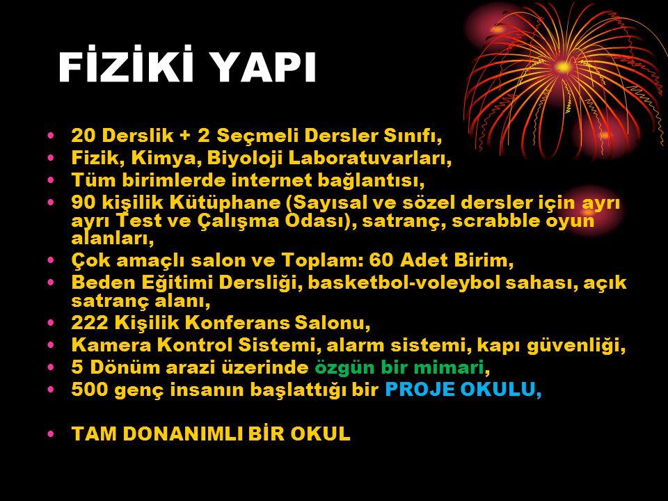 2013-2014 EĞİTİM-ÖĞRETİM YILI - İLK YILIMIZ!