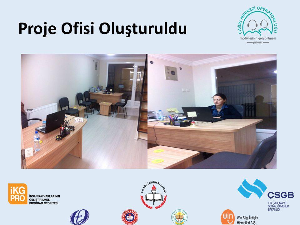 Proje Ofisi Oluşturuldu