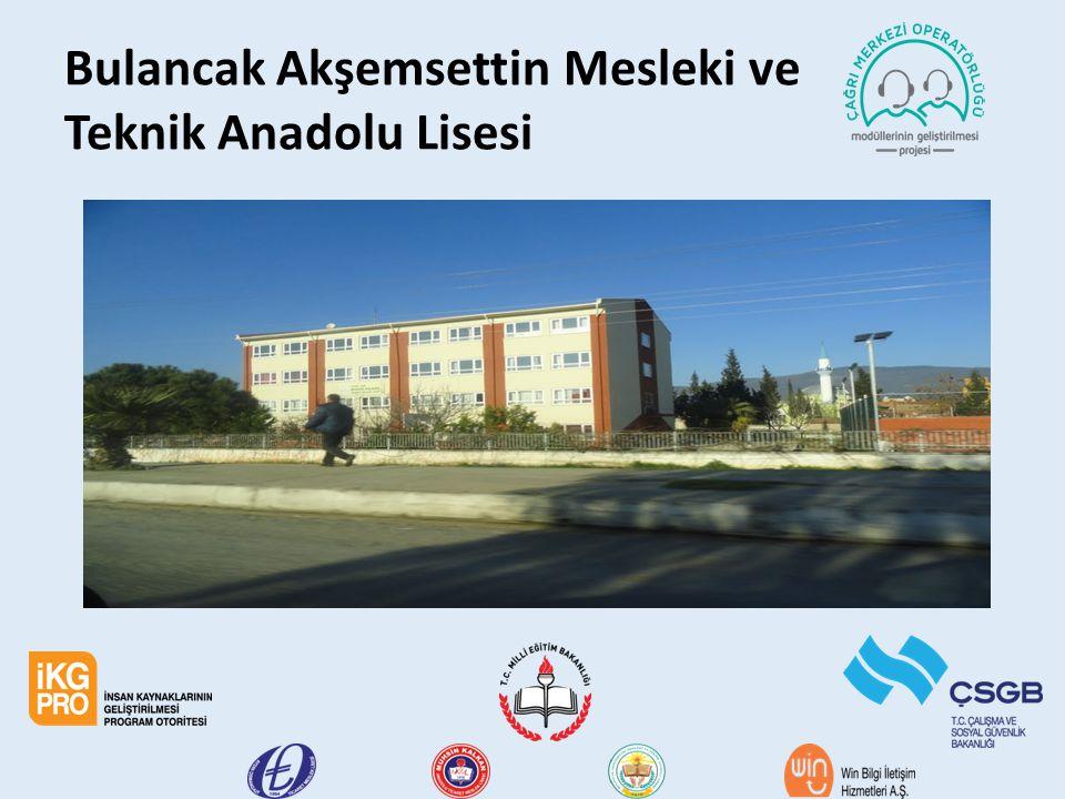 Bulancak Akşemsettin Mesleki ve Teknik Anadolu Lisesi