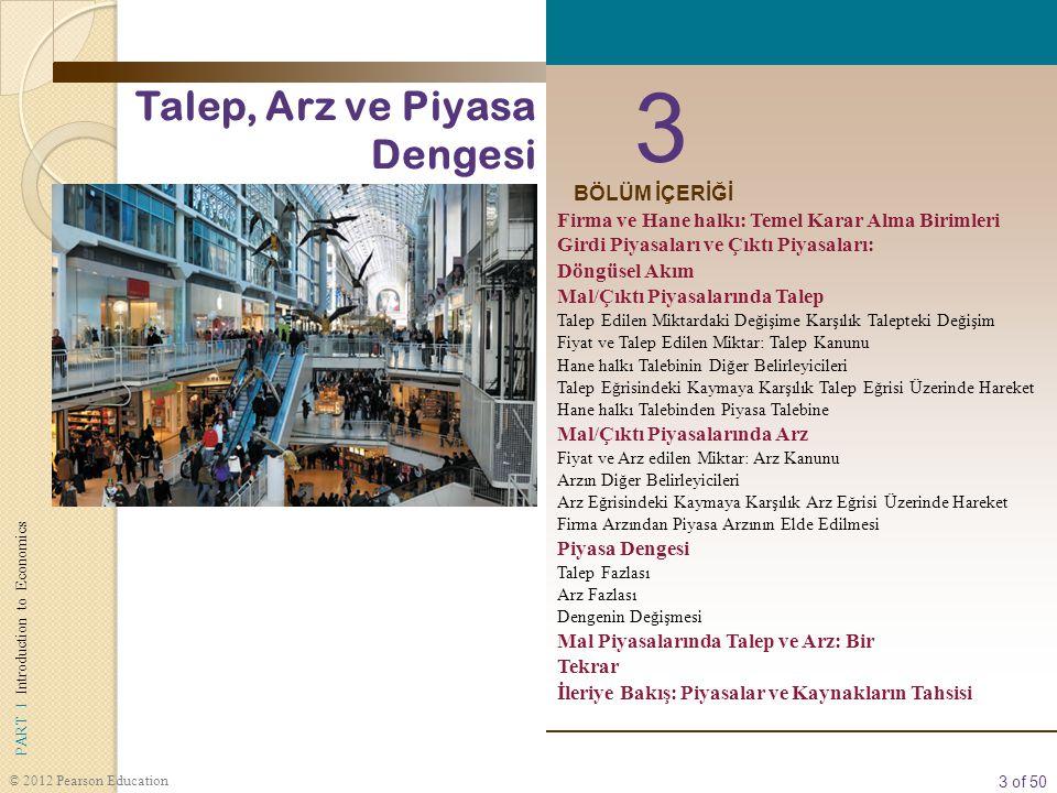 4 of 50 PART I Introduction to Economics © 2012 Pearson Education firma Kaynaklan (girdi) ürüne (çıktı) dönüştüren bir organizasyondur.