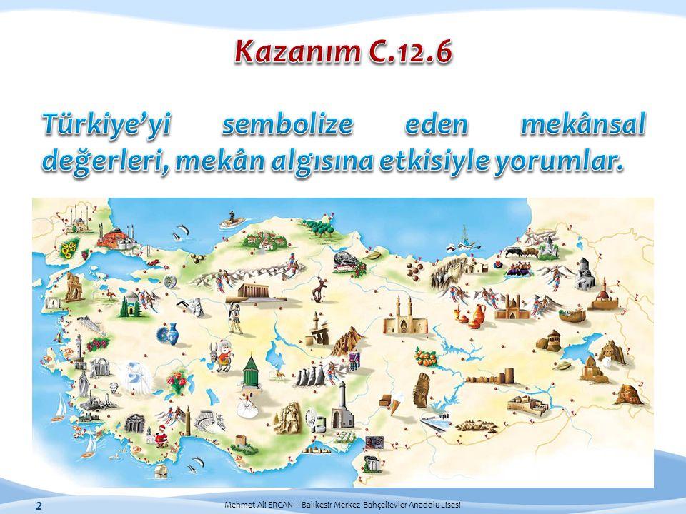 Mehmet Ali ERCAN – Balıkesir Merkez Bahçelievler Anadolu Lisesi 2