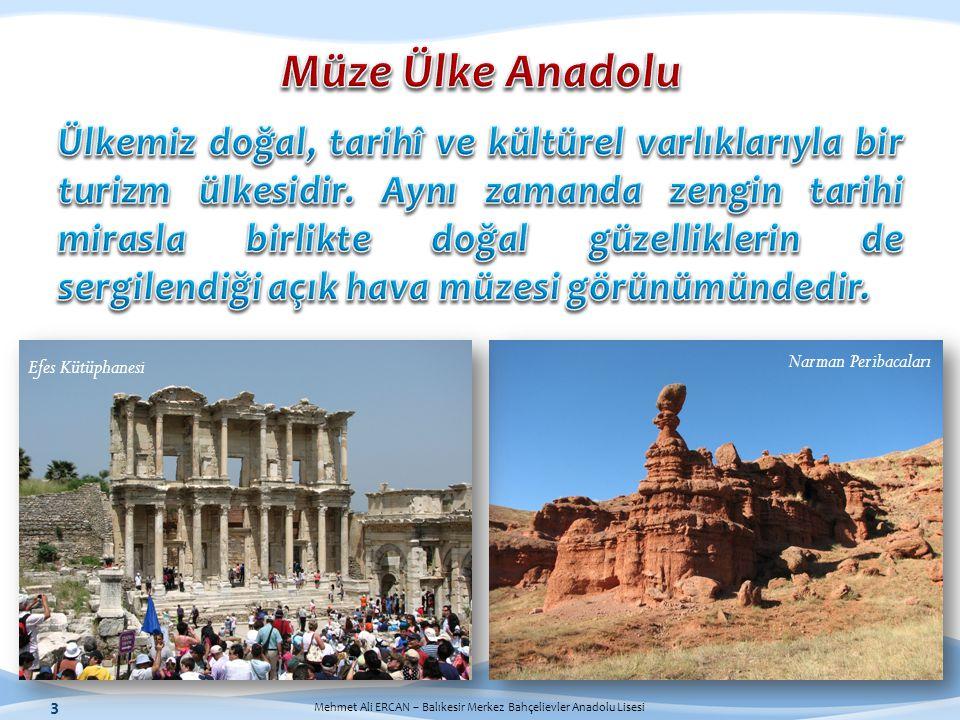 3 Narman Peribacaları Efes Kütüphanesi