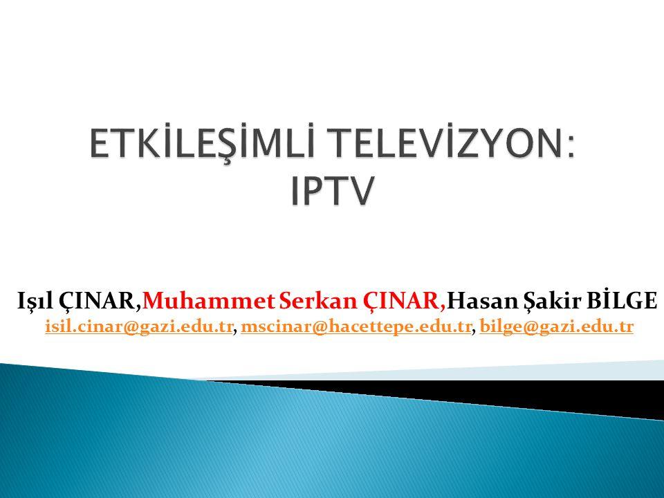  IPTV nedir. IPTV Nasıl Çalışır.