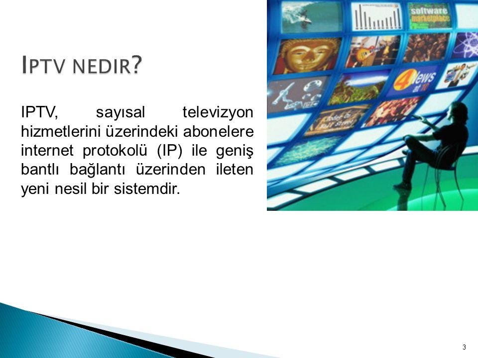 IPTV hizmetinde bulunması gereken başlıca güvenlik gereksinimleri; donanım, yazılım ve sunulan içeriğin korunmasıdır.