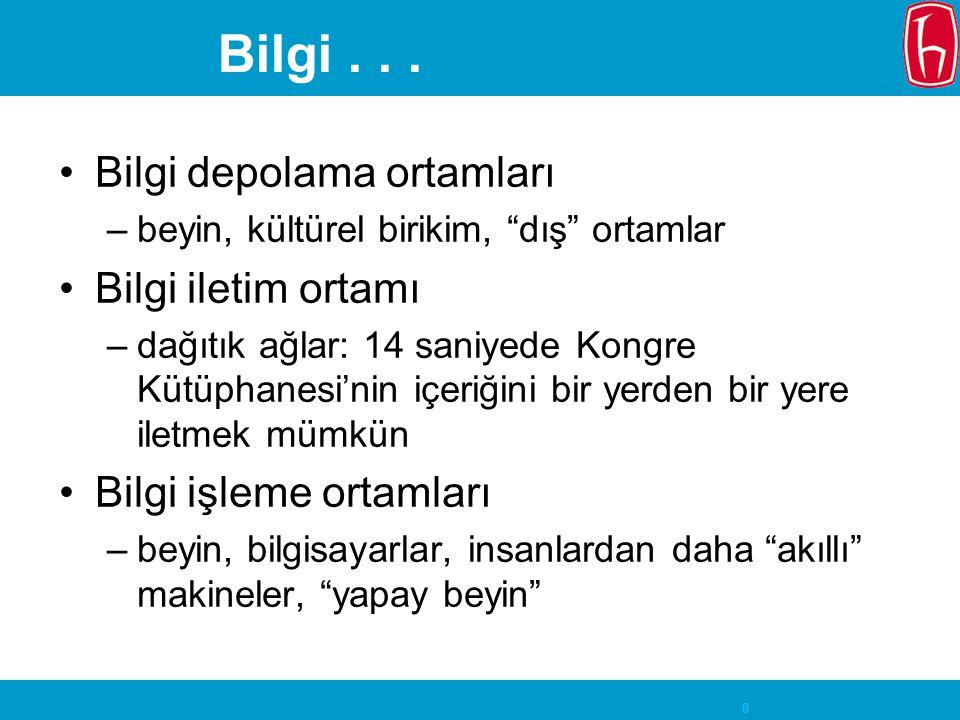 29 Dil Felsefesi ve Bilgi Erişim Bilgi düzenleme ve bilgi erişim de dil kullanımının özel bir türü Sistematik dizinleme (J.