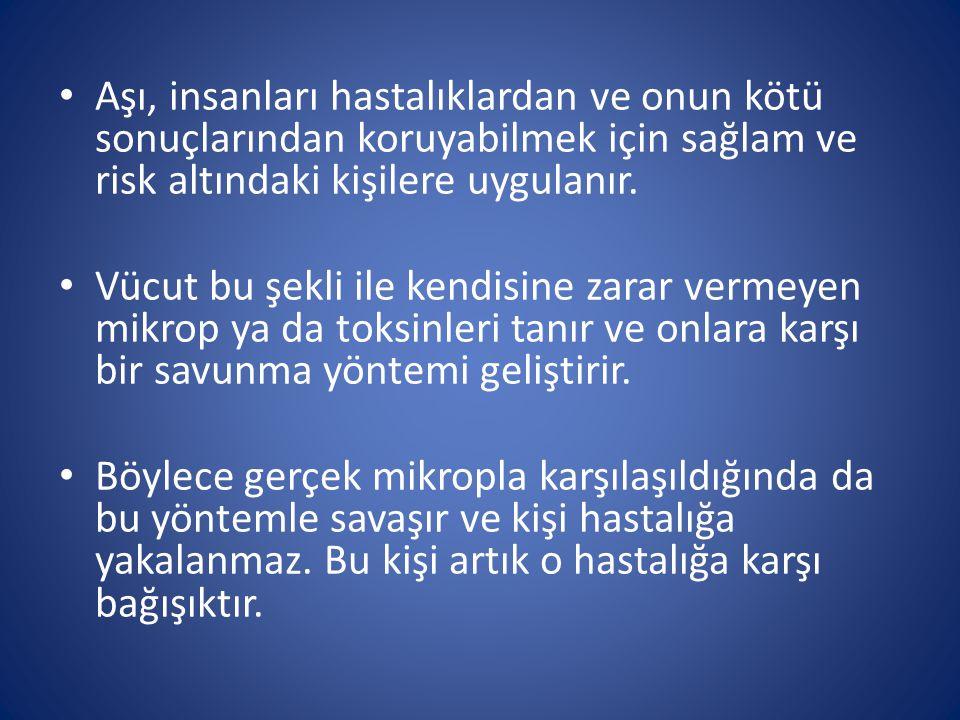 AŞI NASIL ETKİ EDER.