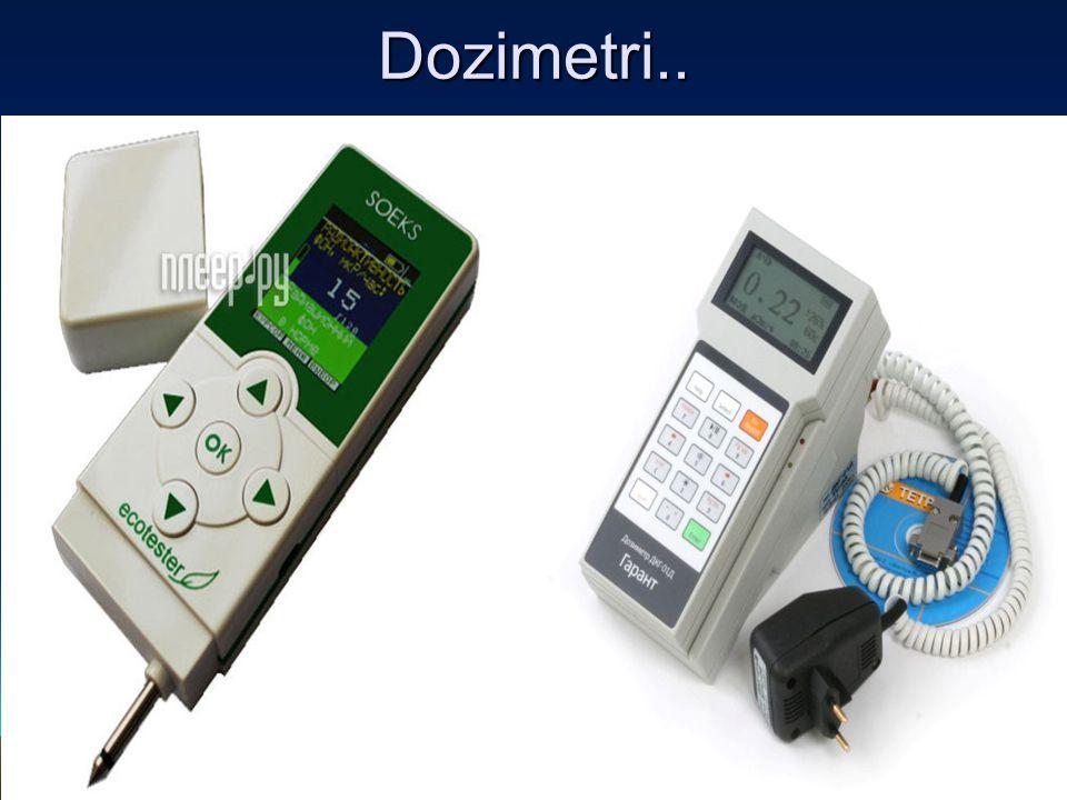İnternal dozimetri insanlardaki iç ışınlanma düzeyini tespite yönelik bir programdır.