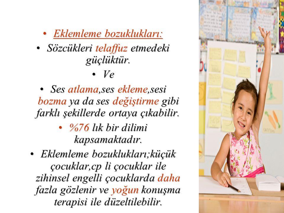 Sınıf öğretmenlerinin sınıflarındaki dil ve konuşma bozukluğu olan çocuklar için uyarlamalar yapmaları gerekmez.Sınıf öğretmenlerinin sınıflarındaki dil ve konuşma bozukluğu olan çocuklar için uyarlamalar yapmaları gerekmez.