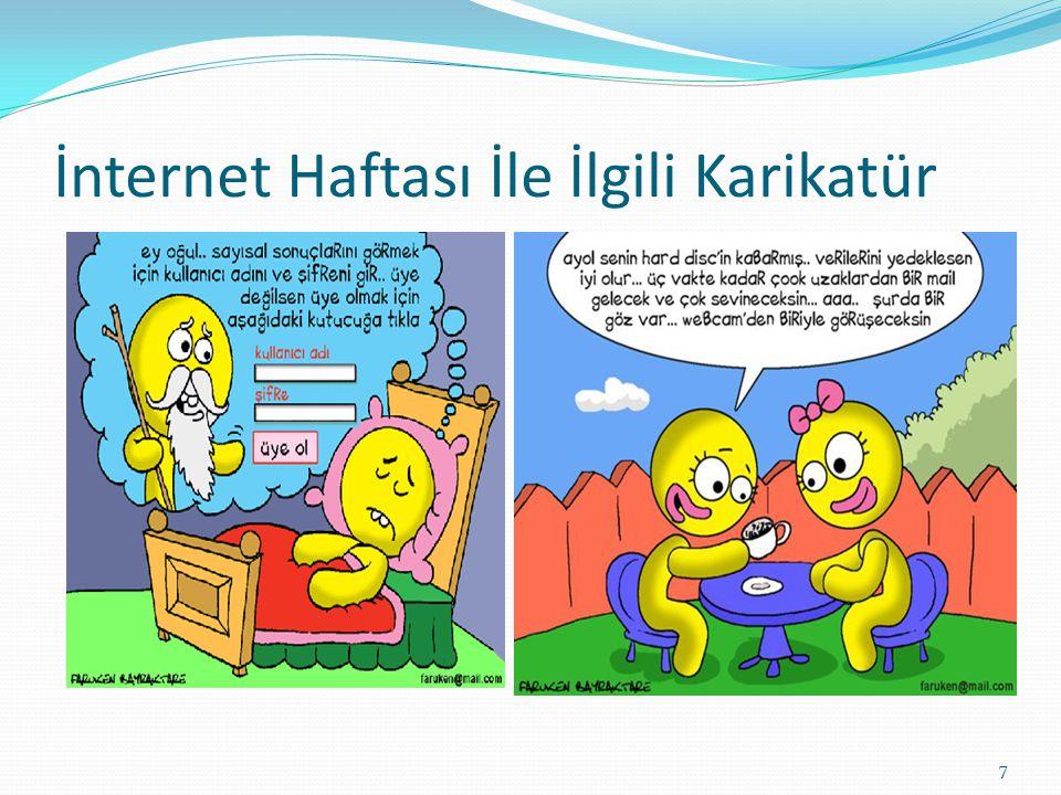 İnternet Haftası İle İlgili Karikatür 7