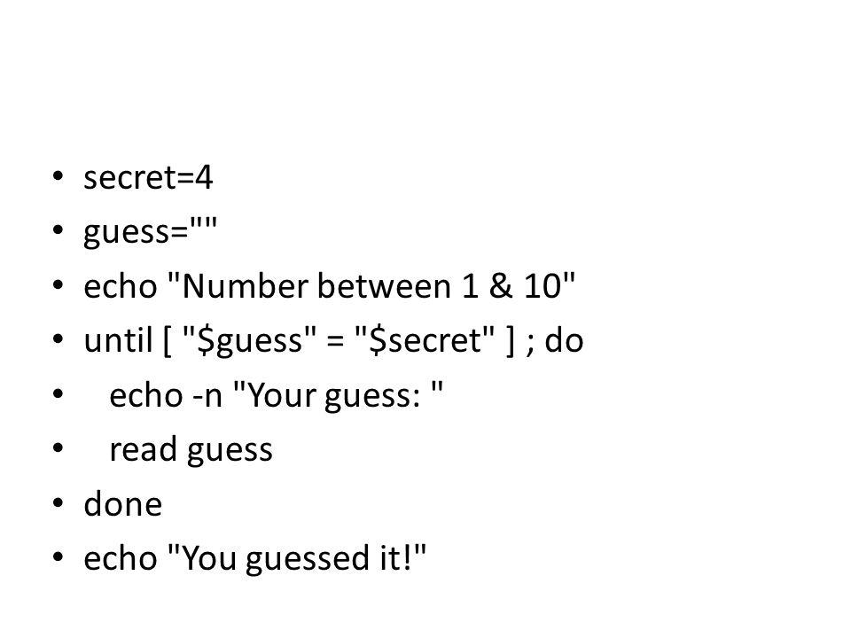 secret=4 guess=