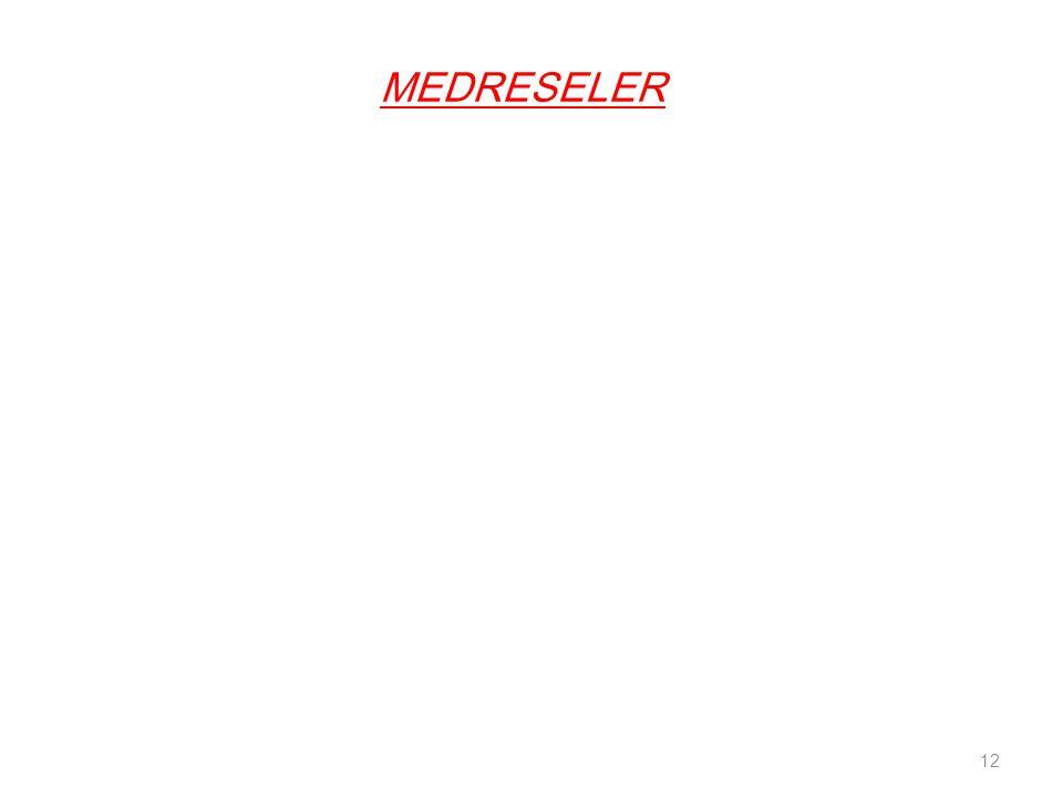 MEDRESELER 12