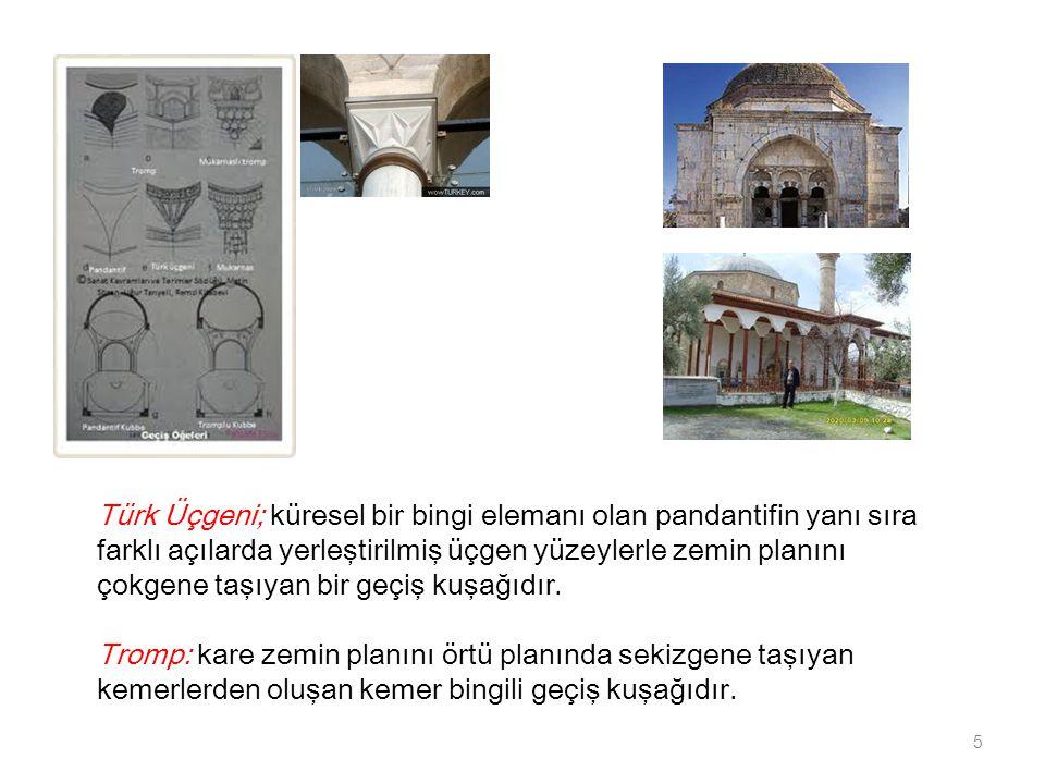 MENGÜCÜKLÜLER -Divriğ Kale Camii (1180-1181): dikine üç nef halinde gelişen yapı, yanlarda dörder kubbe, ortada bir beşik tonoz örtüyü meydana getirir.