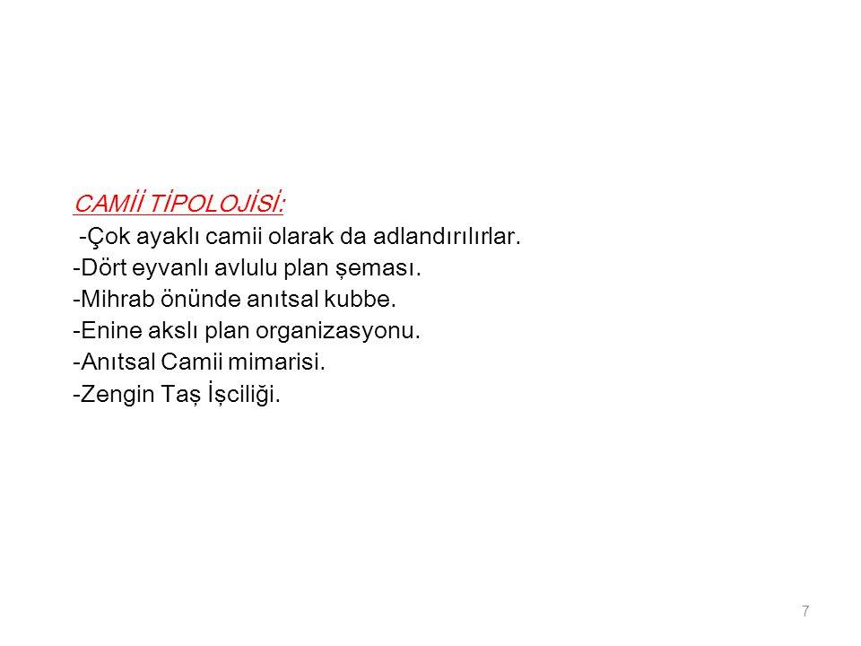 MİMARİ Yapı Tipolojisi; 18