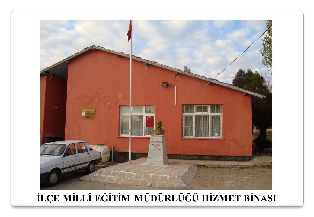 İbrahim DOĞAN Şube Müdürü Mustafa AYDEMİR İlçe Milli Eğitim Müdürü Şef (Boş)