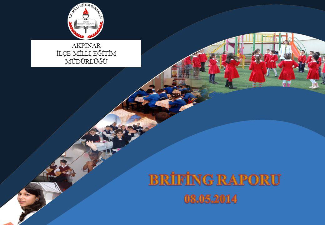 2013-2014 ÖĞRETİM YILI OKUL-DERSLİK - ÖĞRENCİ DURUMU ( Resmi-Özel Okullar İlçe Geneli ) OKUL TÜRÜOKUL SAYISI DERSLİK SAYISIÖĞRENCİ SAYISI Anaokulu 1441 Anasınıfı 0544 OKUL ÖNCESİ EĞİTİM TOPLAMI 1985 Özel Eğitim Okulları 000 İlköğretim Okulu (İlçe Merkez) 333558 İlköğretim Okulu (Köy) 536278 İLKÖĞRETİM OKULU TOPLAMI 869836 Özel Eğitim Okulları 000 Genel Liseler 000 Mesleki ve Teknik Liseler 112228 ORTAÖĞRETİM OKULU TOPLAMI 112228 GENEL TOPLAM 10901149 11