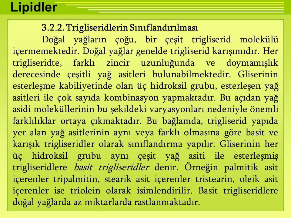 Lipidler 3.2.2.