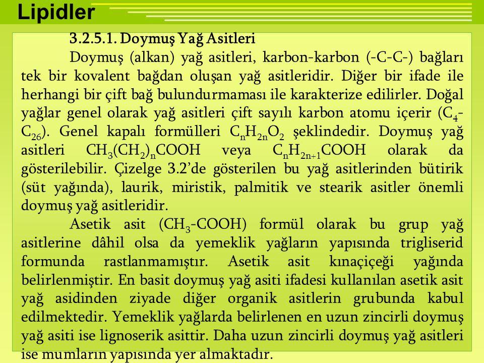 Lipidler 3.2.5.1.