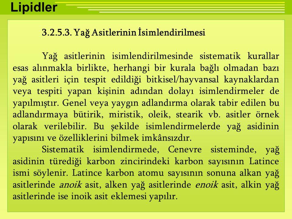Lipidler 3.2.5.3.
