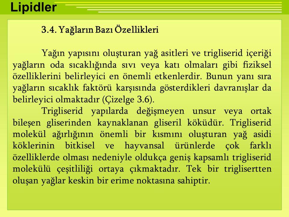 Lipidler 3.4.