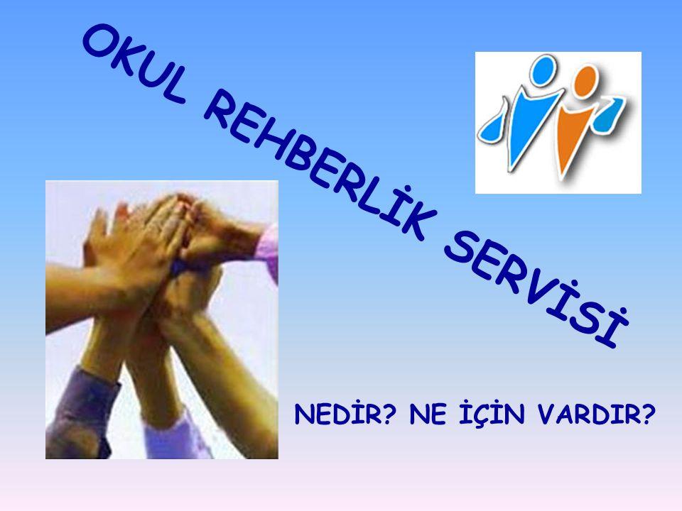 Okulumuz Rehberlik Servisi; sizlerin tek başınıza çözemediğiniz, aşağıda belirtilen konularda sizlere yardımcı olmak için çalışmaktadır.