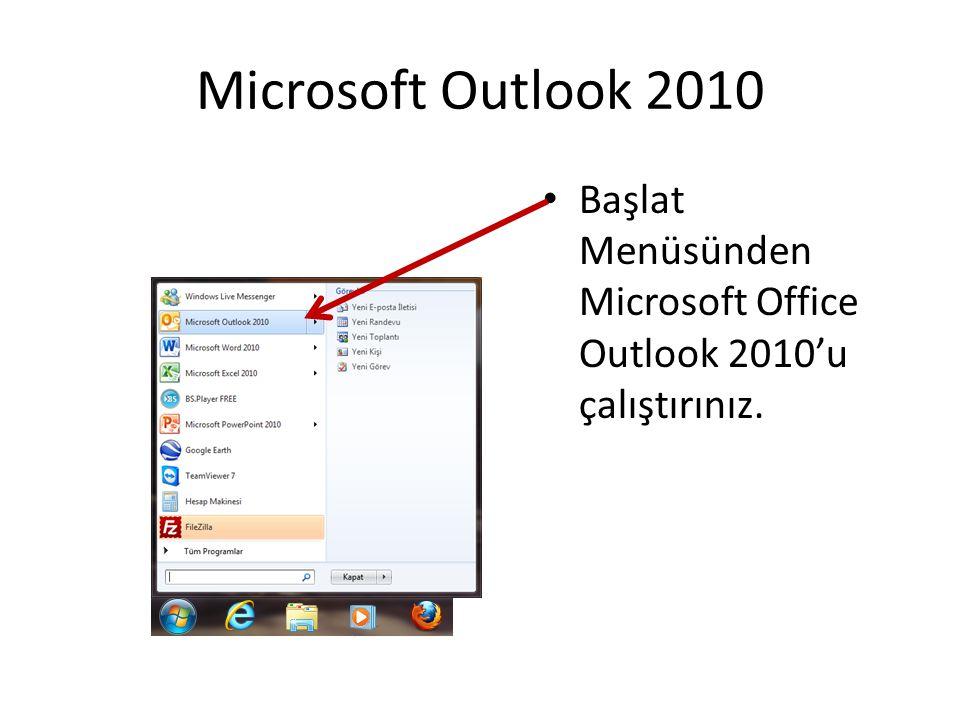 Açılan Outlook Penceresinde Dosya Sekmesine Tıklayınız… Ardından Hesap Ayarlarına Tıklayınız