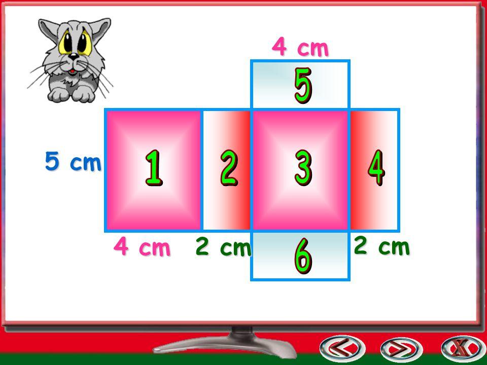 4 cm 5 c m 2 cm