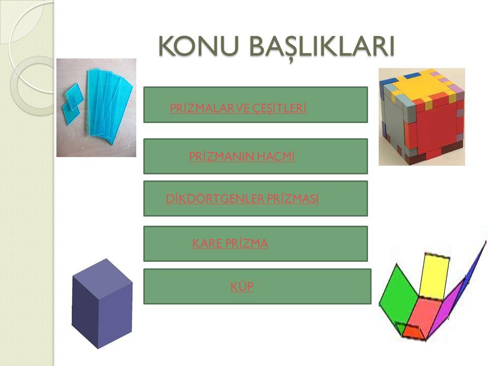 CEVAP 5 Küpün ayrıt uzunlu ğ u = 12x a = 12 x 10 = 120 cm CEVAP 6 Küpün Alanı = 6 x a² = 6 x 10² = 6 x 100 = 600 cm²