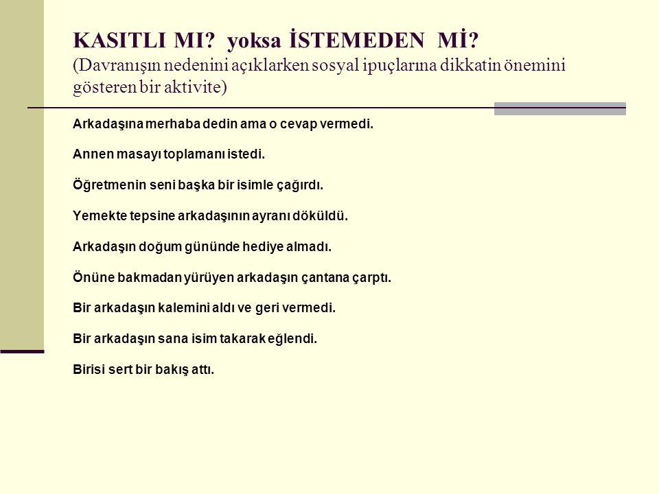 KASITLI MI.yoksa İSTEMEDEN Mİ.