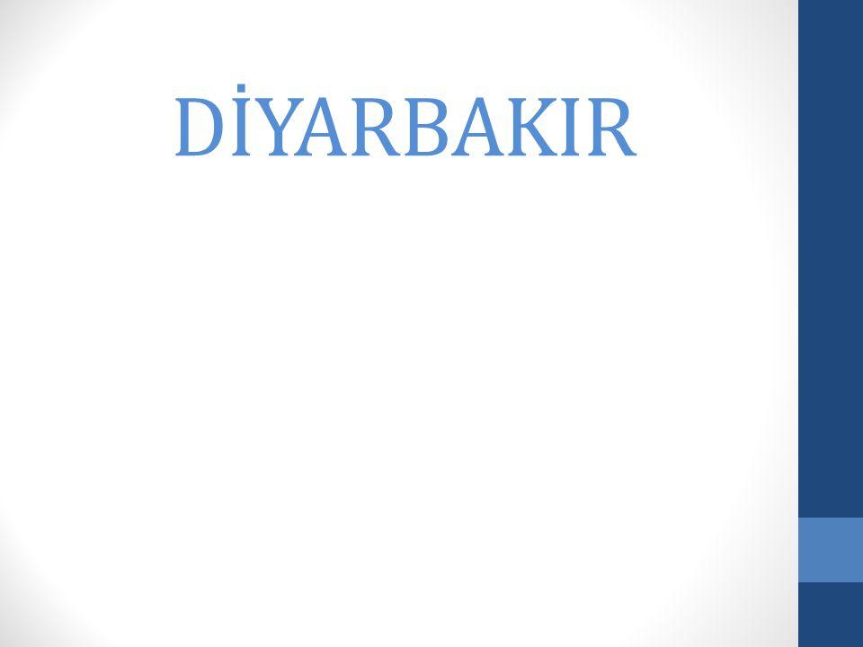 DİYARBAKIR