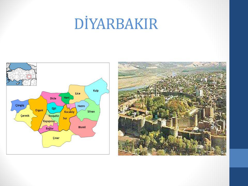 Diyarbakır is a big city.Diyarbakır is a historical city.