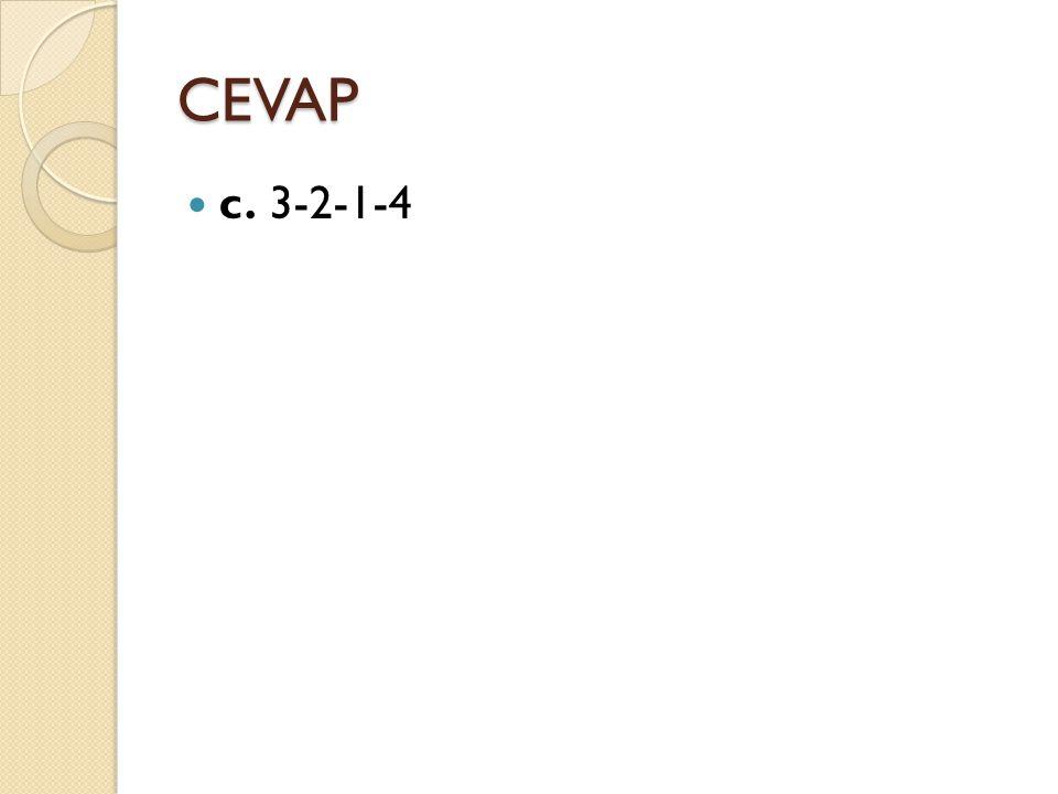 CEVAP c. 3-2-1-4