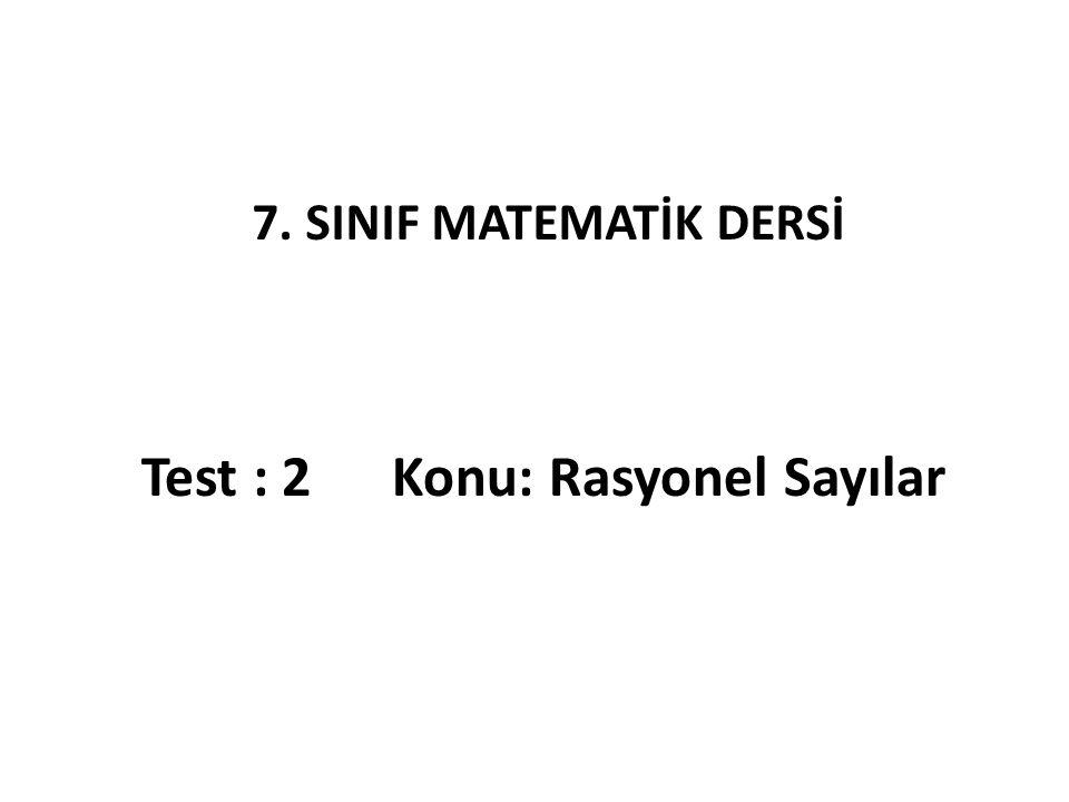 11) sayılarının sıralanışı aşağıdaki seçeneklerin hangisinde doğru olarak verilmiştir.