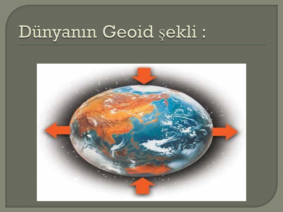 Dünyamızın Özellikleri Nelerdir ?