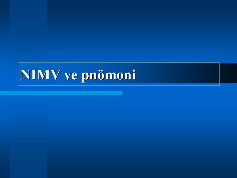 NIMV ve pnömoni