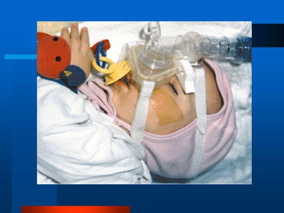 NIMV'nun yararlı etkileri Atelektazilerin açılması Solunum kaslarının dinlenmesi Solunum merkezinin CO2 duyarlılığının düzeltilmesi V/Q orantısızlığının düzelmesi Pulmoner hipertansiyonun azaltılması Hastaların kendilerini nöropsikiyatrik açıdan daha iyi hissetmeleri