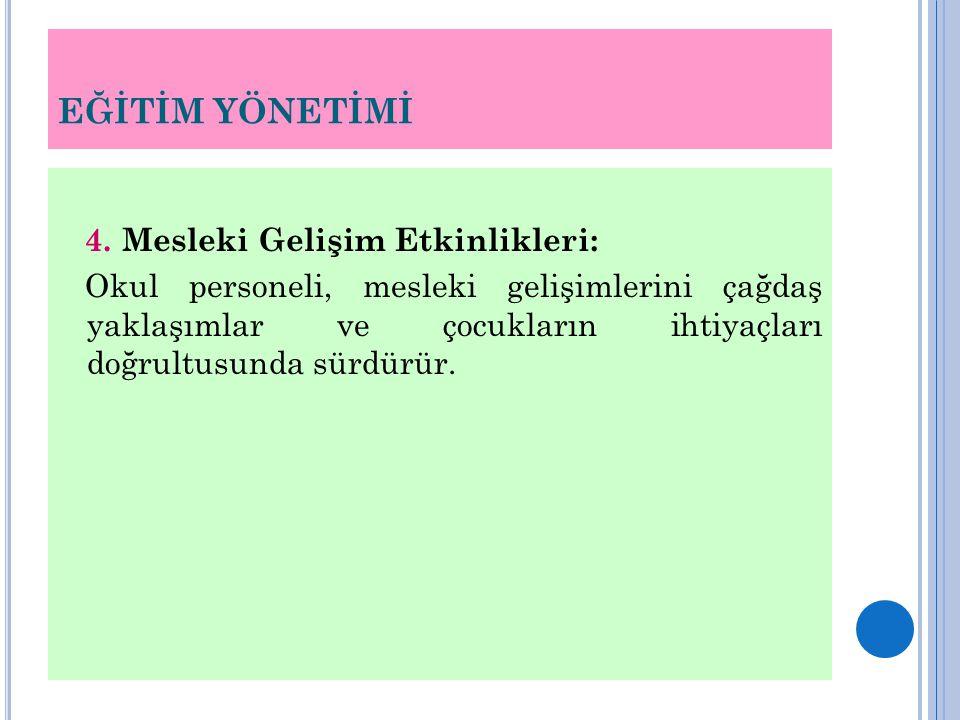 EĞİTİM YÖNETİMİ 4.