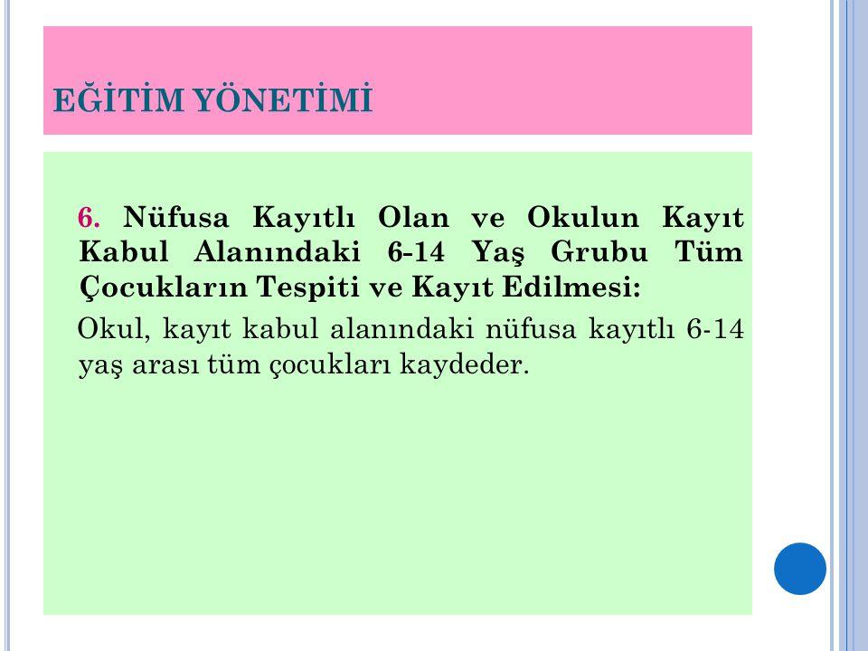 EĞİTİM YÖNETİMİ 6.