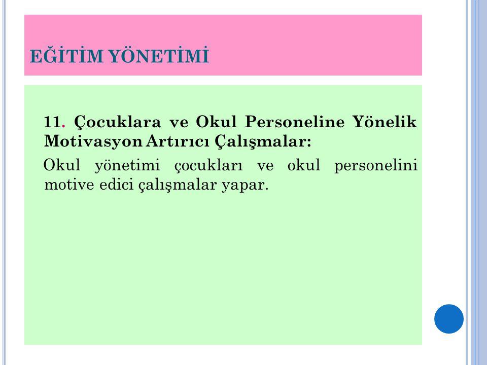 EĞİTİM YÖNETİMİ 11.
