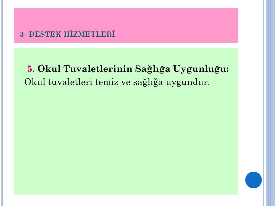 3- DESTEK HİZMETLERİ 5.