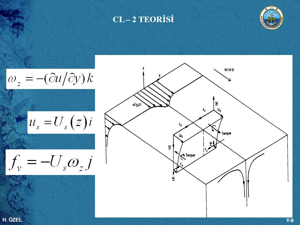 H. ÖZEL Y-6 CL – 2 TEORİSİ