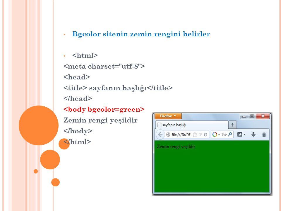 bu tag başka sayfaya link vermek için kullanılır.http://www. Anadolu Üniversitesi