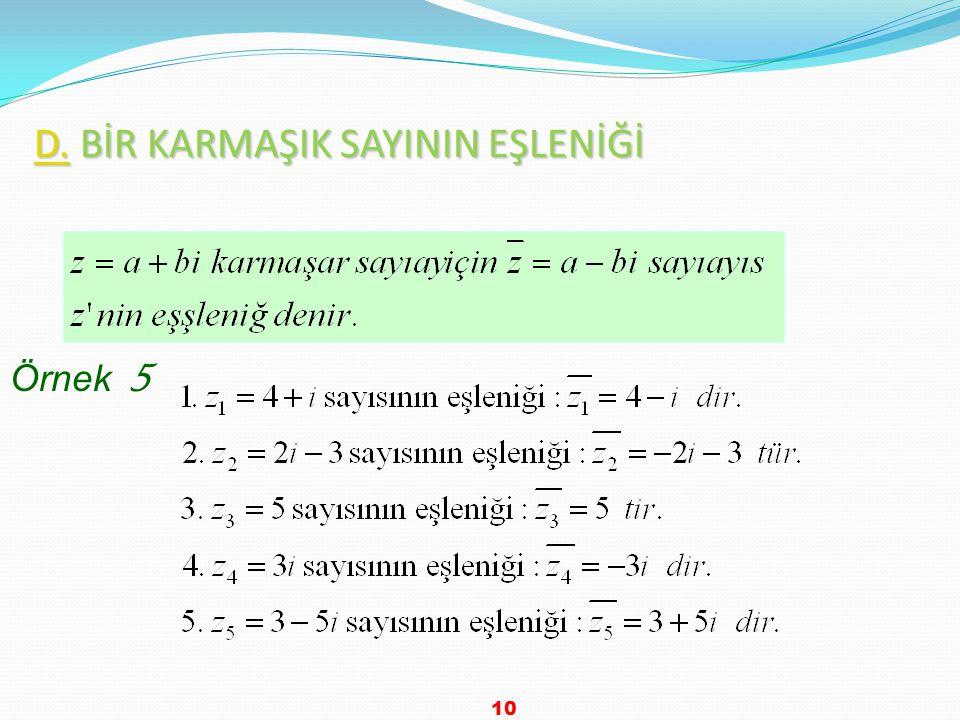 Çözüm Cevap D 9